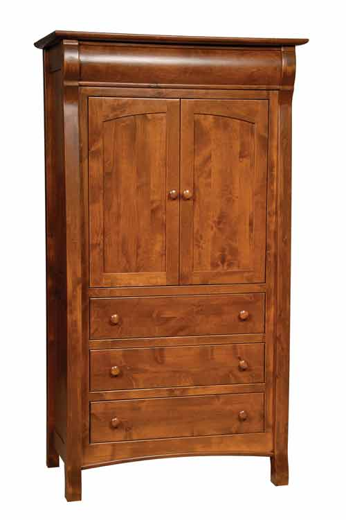Amish Castlebury Bedroom Armoire