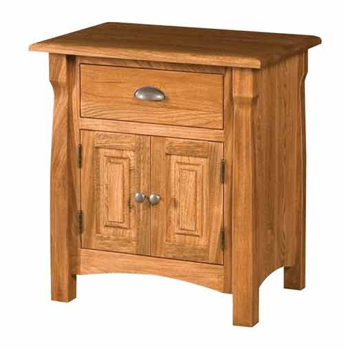 Amish Canterbury Bedroom Night Stand