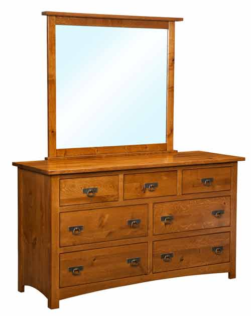 Amish Classic Mission Bedroom Dresser