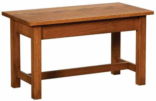 Amish Classic Misson Bed Bench