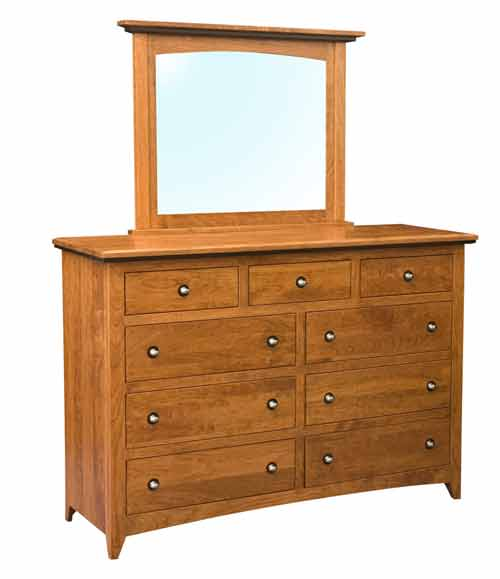Amish Classic Shaker Bedroom Dresser