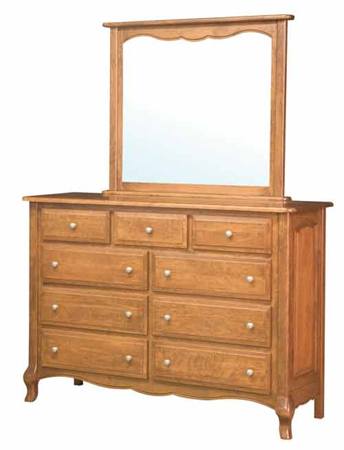Amish French Country Bedroom Dresser