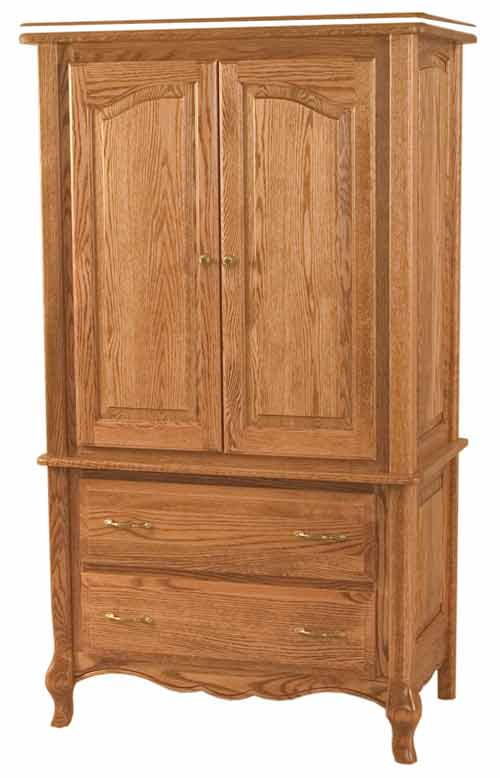 Amish French Country Bedroom Armoire