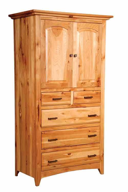 Amish Premier Shaker Bedroom Armoire
