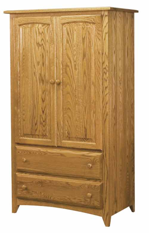 Amish Shaker Bedroom Armoire