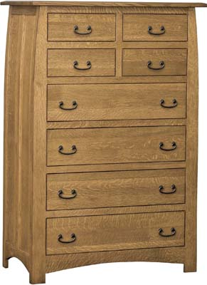 Amish Superior Shaker Bedroom Chest