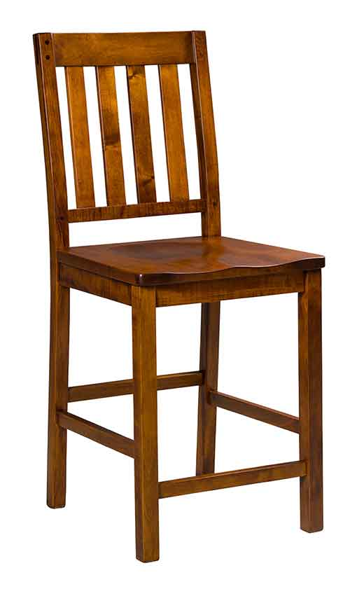 Wondrous Amish Handcrafted Bistro And Pub Stools Download Free Architecture Designs Grimeyleaguecom