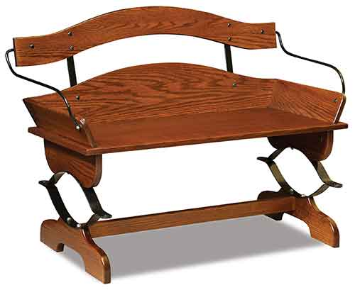 Amish Buckboard Bench