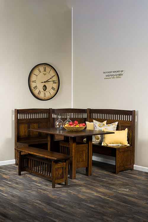 Amish Classic Mission Dining Set