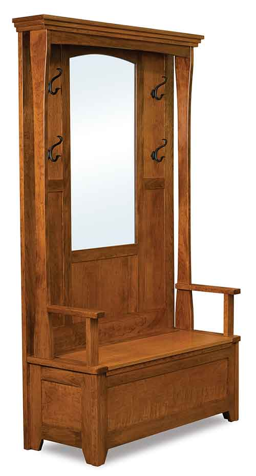 Amish Hampton Hall Seat