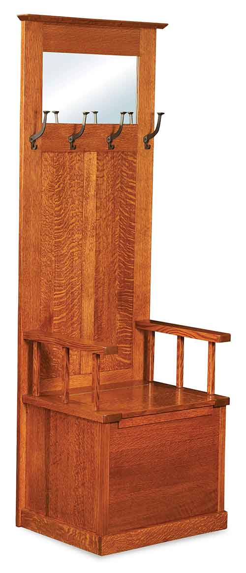 Amish Heritage Mission Hall Seat