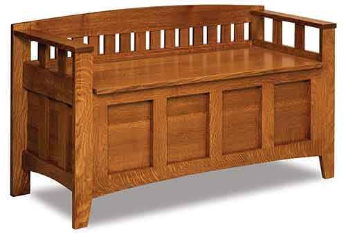 Amish Westfield Storage Bench