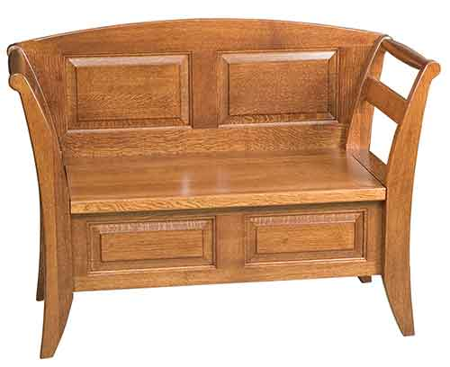 Amish Arlington Storage Bench