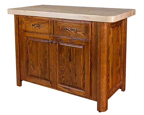 Amish Palisade Kitchen Island