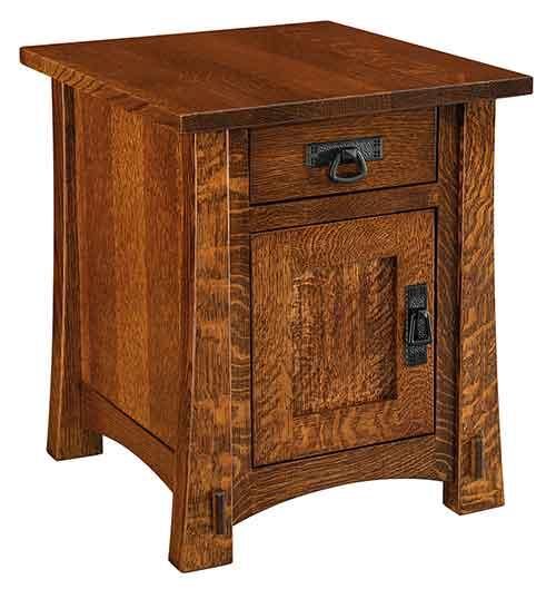Amish Modesto End Table Cvh Md2022e, Furniture Market Modesto