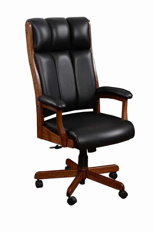 Amish Bridgeport Office Desk Chair