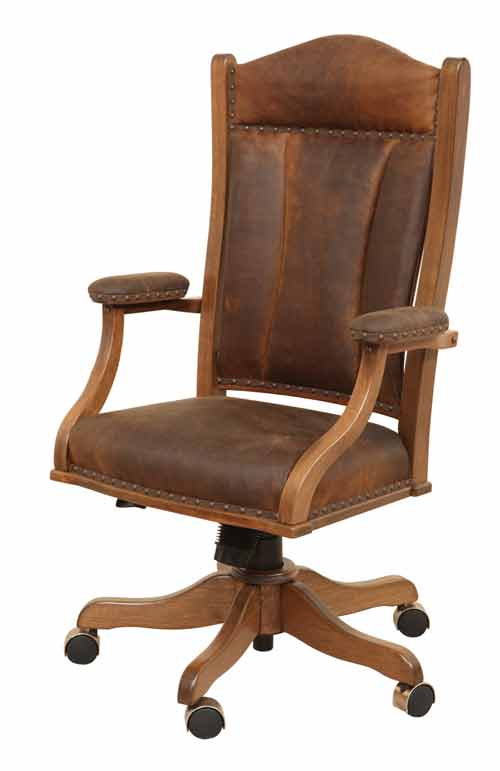 Amish Jefferson Desk Chair