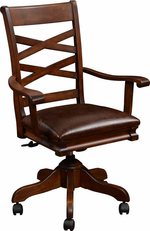 Amish Writing Office Desk Chair
