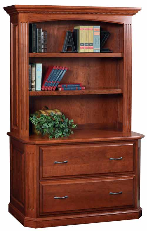 Amish Buckingham Lateral File Cabinet
