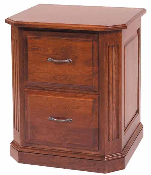 Amish Buckingham Office File Cabinet