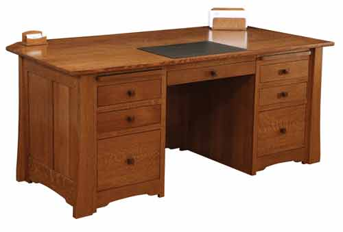Amish Jamestown Executive Office Desk