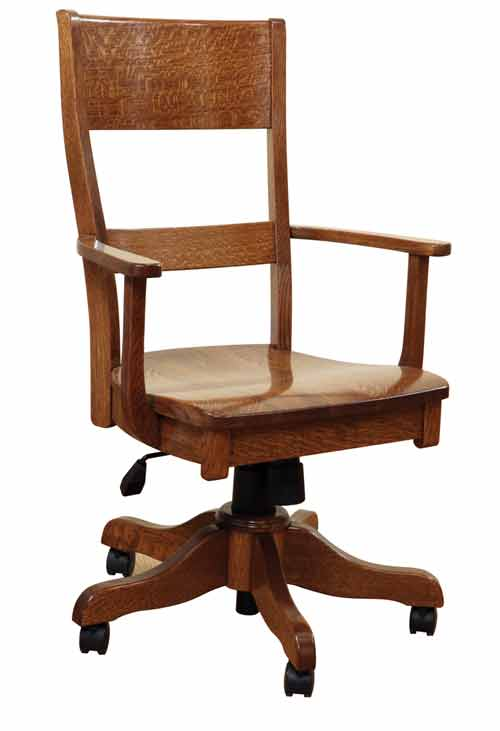 Amish Jamestown Office Desk Chair