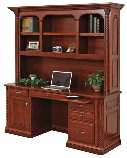 Amish Lexington Credenza with Optional Hutch