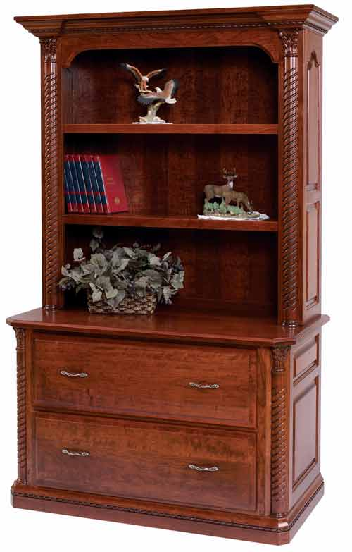 Amish Lexington Lateral File Cabinet