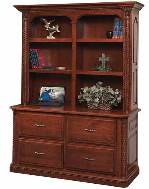 Amish Lexington Double Lateral File Cabinet