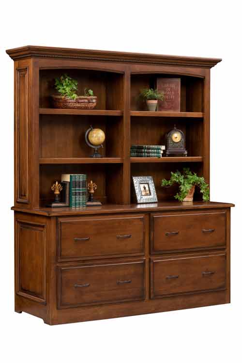 Amish Liberty Double Lateral File Cabinet