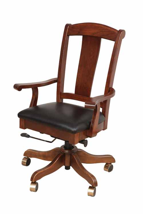 Amish Liberty Office Desk Chair