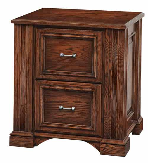 Amish Lincoln Office File Cabinet