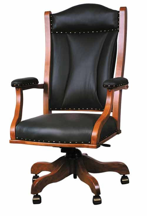 Amish Lincoln Office Desk Chair