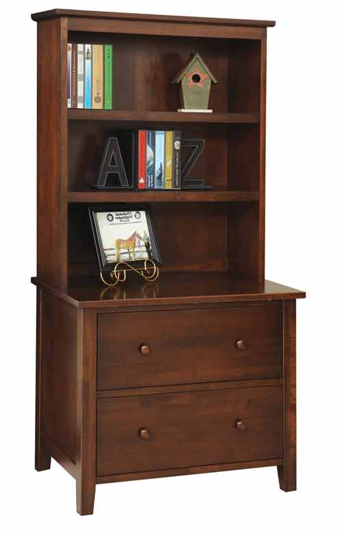 Amish Manhattan Bookshelf for Lateral