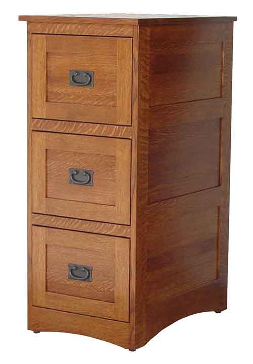 Amish Deluxe Mission File Cabinet