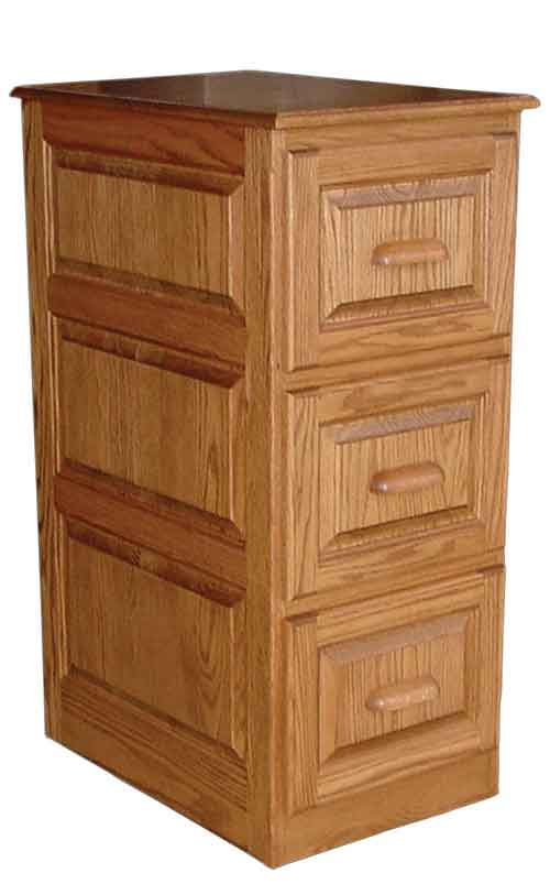 Amish Deluxe Traditional File Cabinet