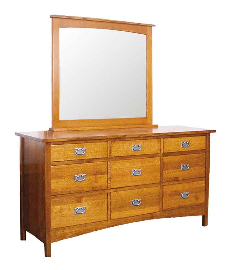 Amish Arts U0026 Crafts Bedroom Dresser