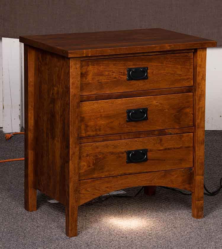 Amish Arts & Crafts Bedroom Night Stand [E&S-ACMNS] : The ...
