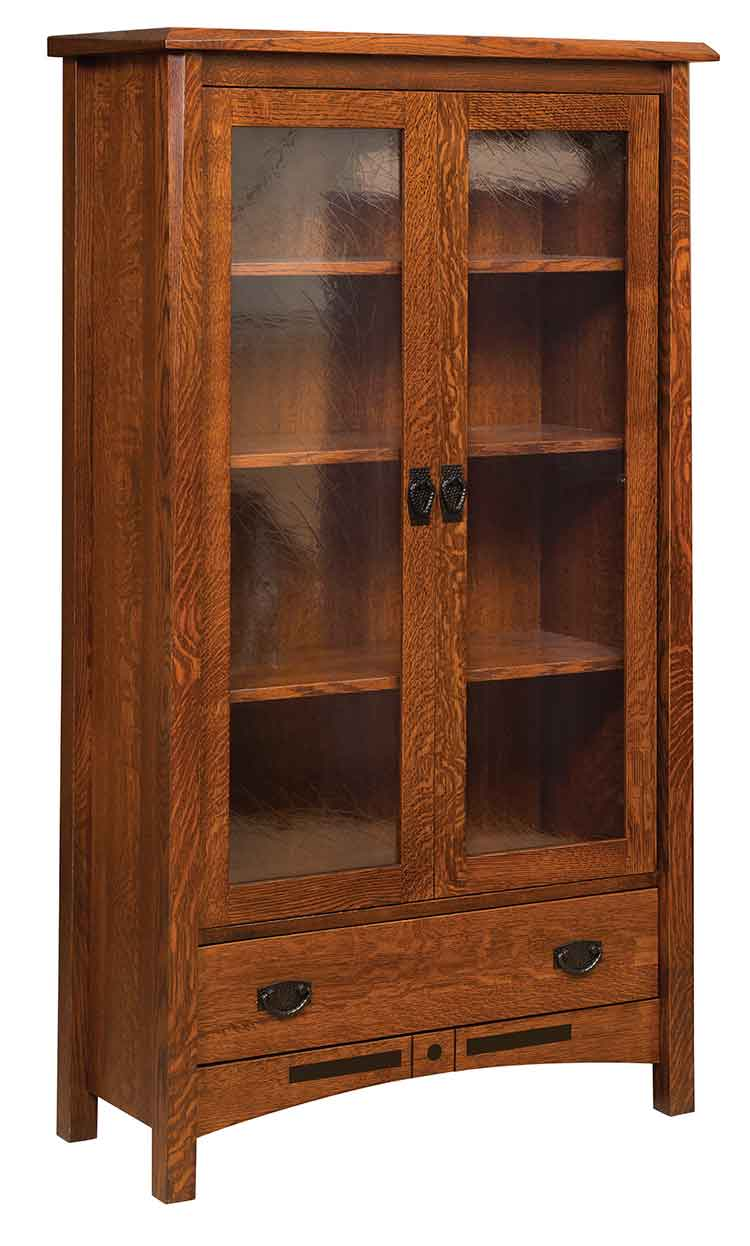 Amish Bel Aire Bookcase