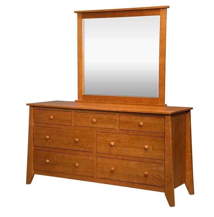 Amish Berwick 7 Drawer Bedroom Dresser