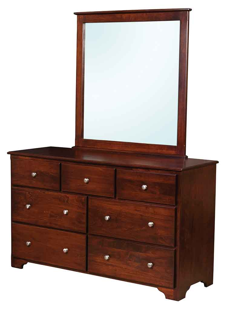 Amish Millerton 7 Drawer Dresser