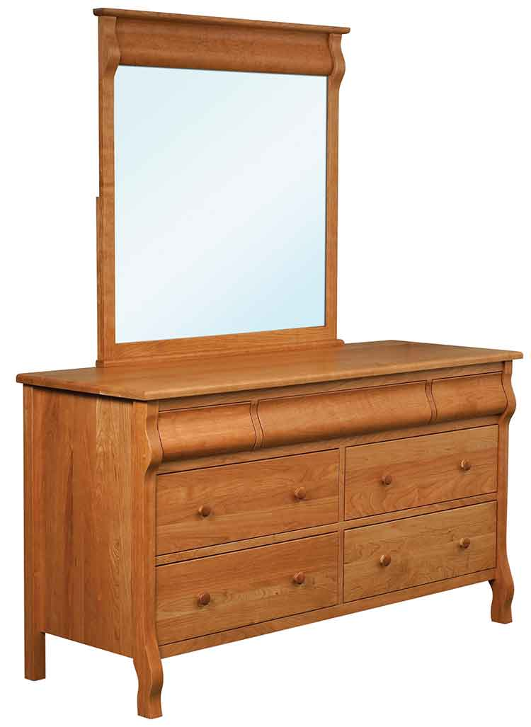Amish Pierre 7 Drawer Bedroom Dresser