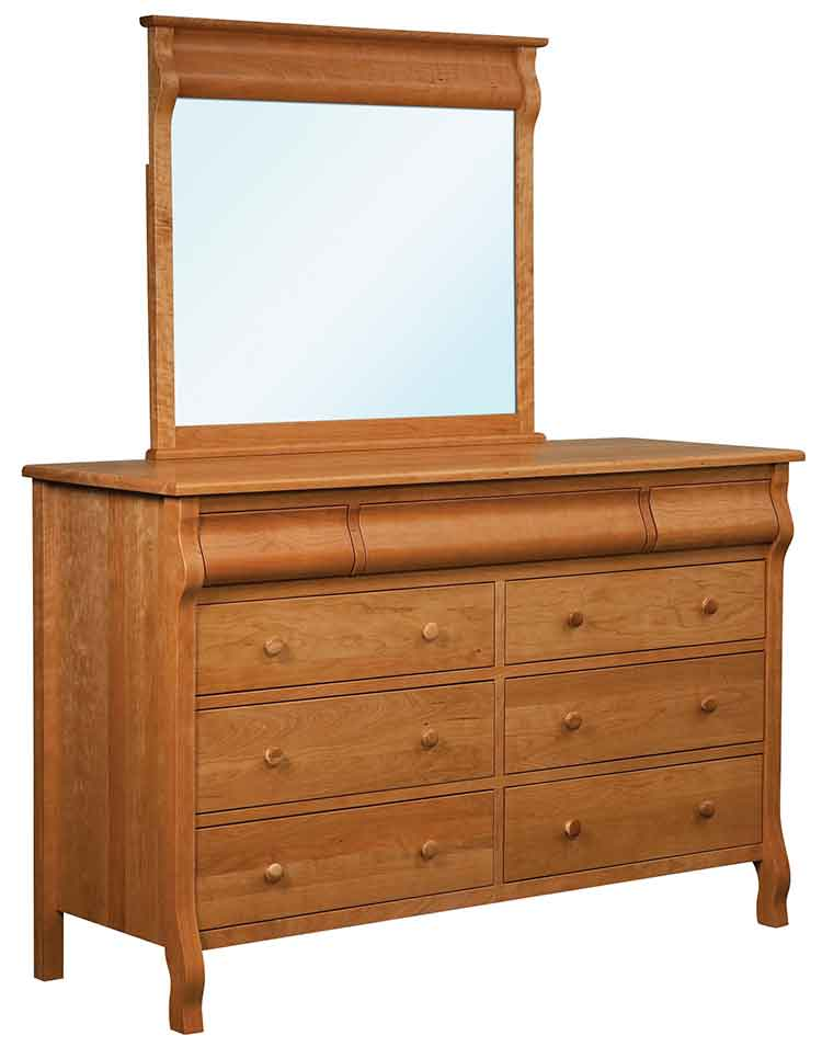 Amish Pierre 9 Drawer Dresser