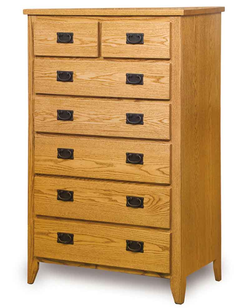 Amish Ridgecrest Mission Chest of Drawers