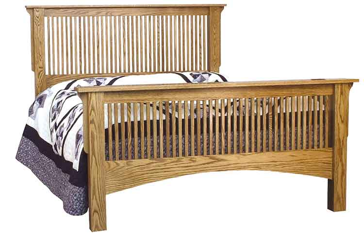 Amish Ridgecrest Stick Mission Bed