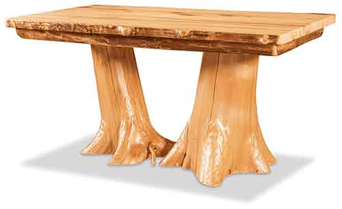 Double Stump Table