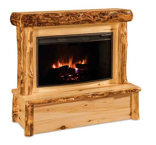 Fireplace w/Mantel