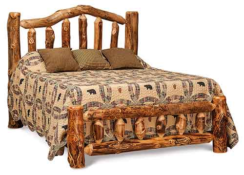 Bed with Low Footboard