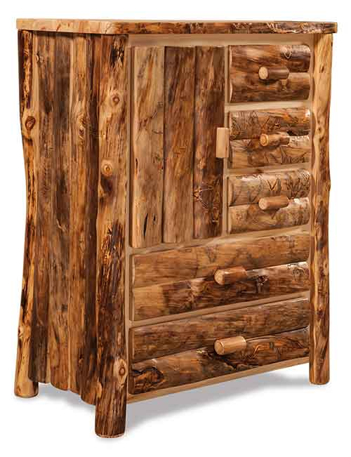 Armoire 5 Drawers, 1 Door