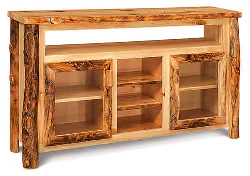 TV Cabinet w/opening & shelves